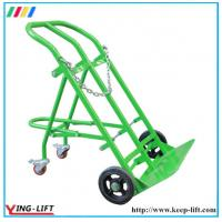 Buy cheap Four Wheels Steel Double Gas Cyliner Hand Delivery Truck TY130 from Wholesalers