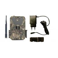 Wildlife Motion Sensor CameraWIth Mounting Strips , Remote Trail Camera Linked To Cell Phone