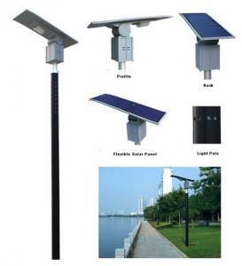 30W Amorphous Flexible Solar LED Spot Light