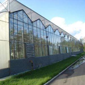China Multi Span Polycarbonate Sheet Greenhouse on sale