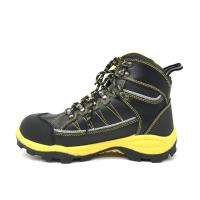 China Microfiber Toe Box Caterpillar Safety Boots Waterproof Standard SB ISO Approved factory
