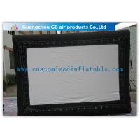 Buy cheap Promotional Advertising Inflatable Movie Screen / Video Screen In Backyard from Wholesalers