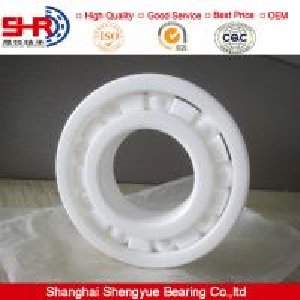 ZrO2 ceramic deep groove ball bearings 6201CE