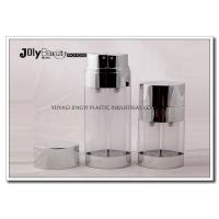 Buy cheap 30ml Empty Plastic Double Tube PP Airless Bottle For Facial Lotion / Cream from Wholesalers