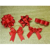 Buy cheap 3Inch Personalized Tie satin ribbon bow , Floral , Elastic , twist tie gift bow from Wholesalers