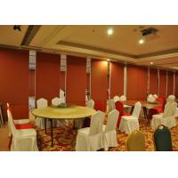 Buy cheap Bare Finish Folding Partition Walls , Acoustic Movable Partition For  Wedding Facility from Wholesalers
