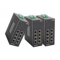 China unmanaged Dinrail gigabit network switch with 8 fast gigabit ethernet ports on sale