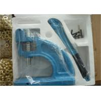 Buy cheap Self Piercing Manual Grommet Press Machine , Handheld Grommet Punch Press Tool from wholesalers