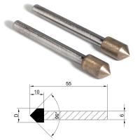 Buy cheap Metal Bond Diamond Grinding Points Bullets Shape Head For Glass Ceramic Agate from Wholesalers