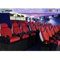 China Dynamic Electric 9D Movie Theater For Commercial Shopping Mall / 9D Action Cinemas factory
