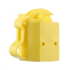 China Steel Post Cap Topper for electric fencing/T-Post Safety Cap Insulator Yellow on sale