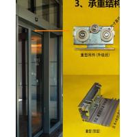 Buy cheap 420 / 600cm Rail Automatic Glass Sliding Doors Commercial With Selflearning Function from Wholesalers