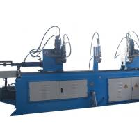 Buy cheap Double Head Large Pipe Bending Machine Electric Auto Feeding High Precision from Wholesalers