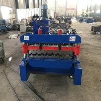 Buy cheap R101 Trapezoidal Roofing Sheet Making Machine For 0.6mm Thickness Aluzinc from wholesalers