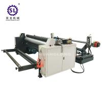China Automatic Slitter Rewinder Machine 380v 50Hz Standard for Nonwoven Fabric factory