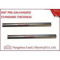 "1-1/2"" Steel Electrical Metallic Conduit with Pre Galvanized Finish 3.05 Meters"