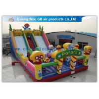 Buy cheap Waterproof Pororo Inflatable Double Slip And Slide Inflatable Fairyland Park For Playing from Wholesalers