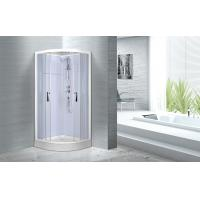 Buy cheap Cheap , Popular luxury shower cabin ,  Chrome Aluminium Quadrant Shower cabin from Wholesalers