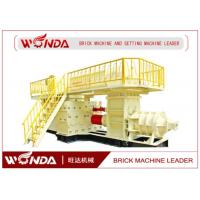 Alloy Structure Auto Clay Mud Brick Making MachineEasy Operation CE Certificated