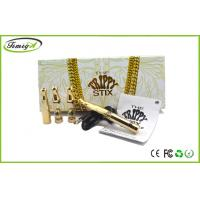 China No Cartridge Stix Wax Vaporizer Pen With All Gold Color With 5 Years Warranty factory