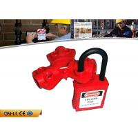 Buy cheap 23g Pneumatic Quick-Disconnect Safety Lock Out with Rugged Polypropylene from Wholesalers