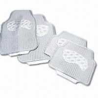 China Metal Chrome Car Mats, Front Size of 71 x 46.5cm, Available in Different Sizes factory
