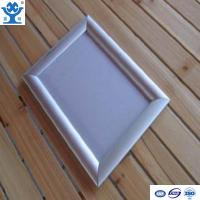 Buy cheap High quality silver anodized matt aluminium led poster frame from Wholesalers