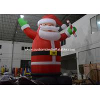 Quality Hot Selling Outdoor Giant Inflatable Santa Claus Christmas Yard Decorations for sale