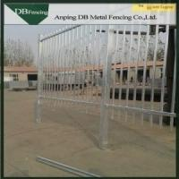 China Galvanized Modern Ornamental Wrought Iron Fence Panels For Park / Farm on sale