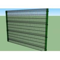 China 1.8m Height Vinyl Coated Welded Wire Fence Panels 4.0 / 5.0 / 6.0mm Wire Diameter on sale