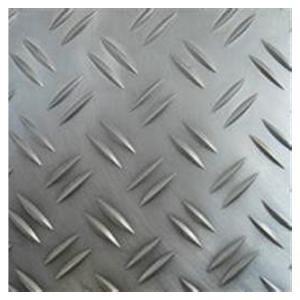 China Architectural Flooring 6061 T4 Aluminum Checkered Sheet factory