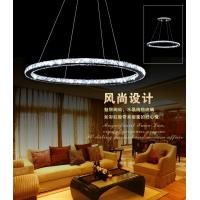 China crystal led chandelier pendant light  stainless YK-8022 factory