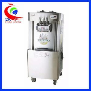Buy cheap Electric Commercial Soft Ice Cream Machine Yogurt Frozen Machine from Wholesalers