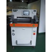 Buy cheap DB-490V8-1 49cm A4 Paper Cutting Machine With Hydraulic Program Control from Wholesalers