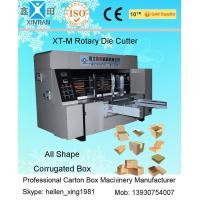 China Automatic High Precision 150 Pieces / Min Carton Box Rotary Die Cutter factory