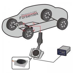 Car accelerator pedal force measurement sensor