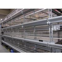 China High Capacity Poultry Farm Cage System Broiler Chicken Cage  42 Kgs Weight factory