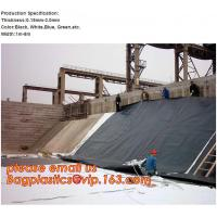 China 0.75mm Geomembrane for Irrigation Water storage Pond, 00:10 Impervious membrane composite geomembrane pond ,1.5mm HDPE factory