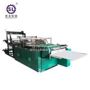 China BOPP Plastic Flower Side Sealing Bag Making Machine 6000*1400*1600 MM Dimension factory