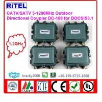 Buy cheap catv_matv 5-1200mhz outdoor splitter/splitters DS-2,DS-3UB,DC-108 for DOCSIS3.1 network compliant with scte guidelines from Wholesalers