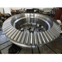 Buy cheap Large Stainless Steel Straight Bevel Gear Wheel For Industrial Equipment from Wholesalers
