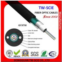 China Telcom Outdoor Fiber Optic Cable High Strength Loose Tube Structure Hydrolysis Resistant on sale