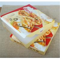China corrugated carton paper packaging pizza box,cheap wholesale custom logo printed pizza box,Environmental customized 16 in factory