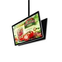 China Customized metro station restaurant Android 43inch Double face hanging lcd advertising screen factory