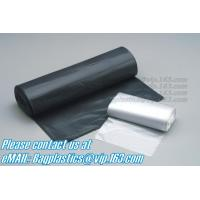 China Blackl bags, seal bags, c-fold bags, bags on roll, roll bags, produce roll, HDPE sacks factory