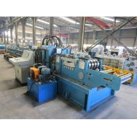 Buy cheap Cr12 Roller Material Changeable Automatic  CZ  Purlin Roll Forming Machine With CE Certificate from Wholesalers