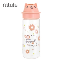 China 500ml 107g Reusable Plastic Water Bottle Cartoon For Kids factory