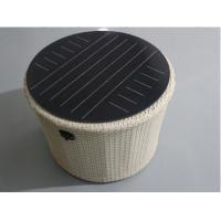 China Double Glass Round Solar Panel Light Kit 12v Support USB Mobile Charger IP65 factory