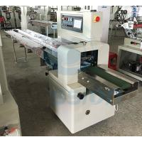 Buy cheap Egg Roll Biscuit Wrapping Machine , Horizontal Automatic Biscuit Packing Machine from Wholesalers