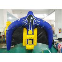 China Towable Inflatable Water Ski Tube Flying Manta Ray For Water Sport Games factory